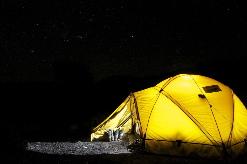 Five things you should always have camping